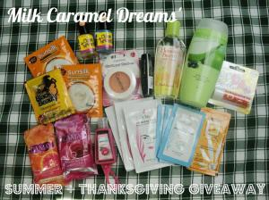 Milk Caramel Dreams' Summer + Thanksgiving Giveaway