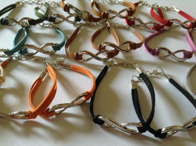 Couple's Infinity Bracelet